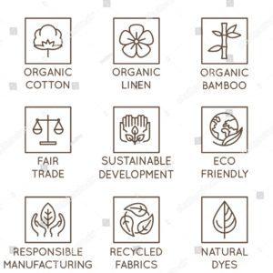 Nachhaltige Stoffe